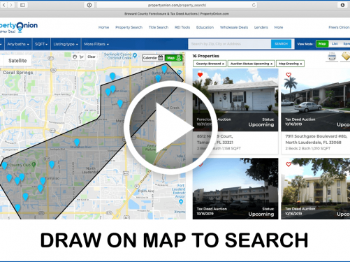 Draw on Map To search feature