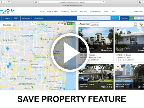 Save your favorite property feature