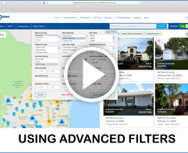 using advanced filters to search