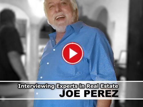 interview with foreclosure auction master Joe Perez