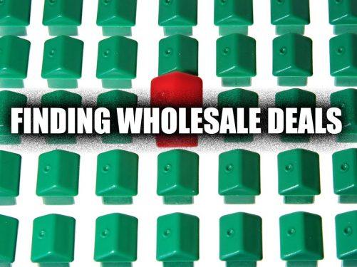 Finding Wholesale Deals