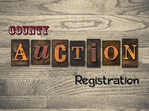 How to Register at the County Foreclosure Auctions