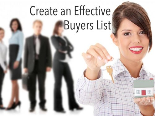 How Wholesalers Can Create Effective Buyers List