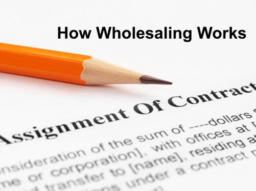 what is a real estate wholesaler