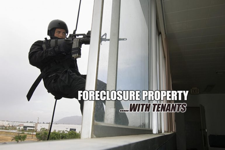 foreclosure with tenants