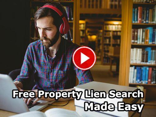 free property lien search