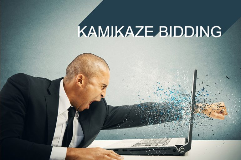 kamikaze bidding