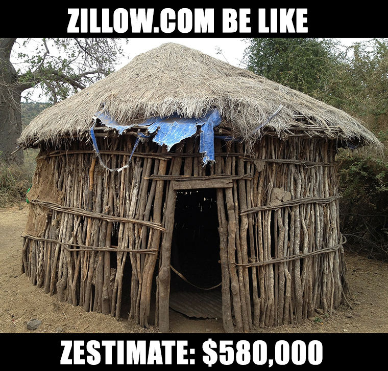 Zillow Zestimate Meme