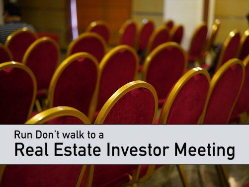 Real Estate Investor Meeting