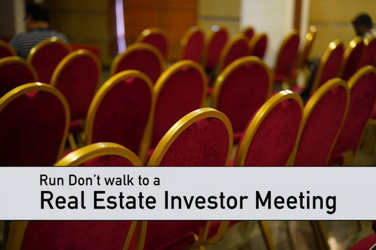 Real Estate Investor Meeting