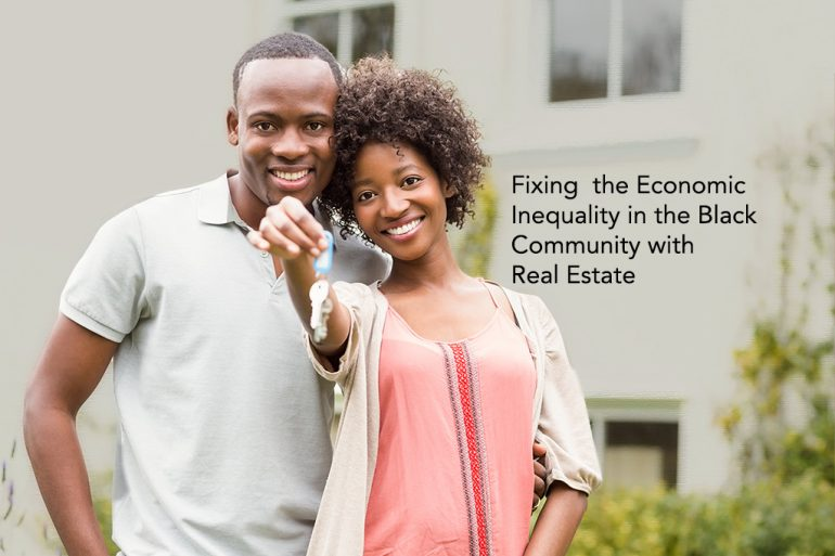 Fixing economic divide in black homeownership to increase economic equality