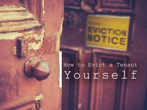 How to Evict a Tenant Yourself