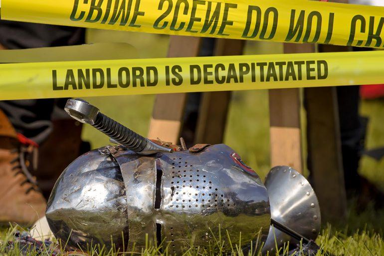 landlord decapitated