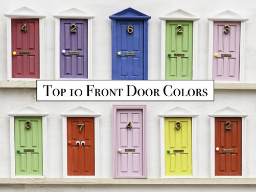 Top 10 Front Door Colors 2020
