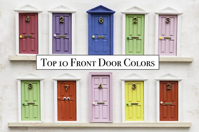 Top 10 Front Door Colors 2020