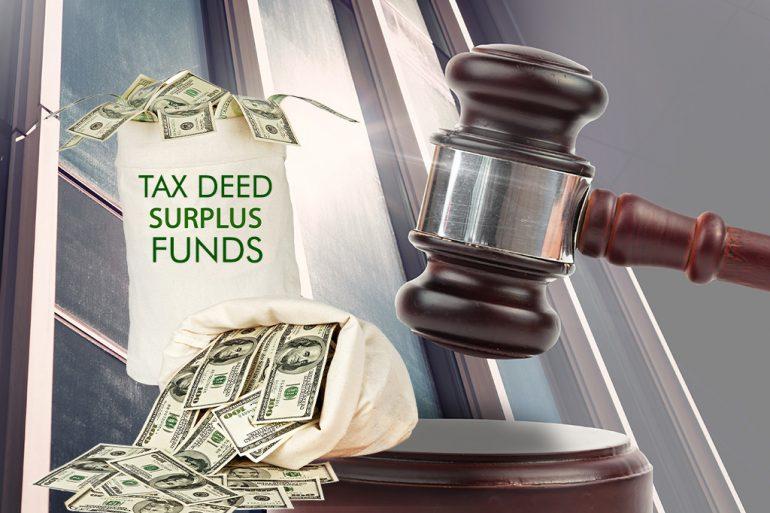 Florida Tax Deed Sale Surplus Funds