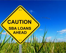 SBA loan in foreclosure cases