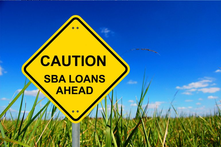SBA loan in foreclosure cases