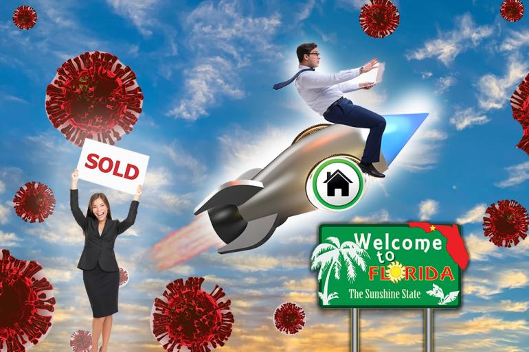 hot real estate market in covid