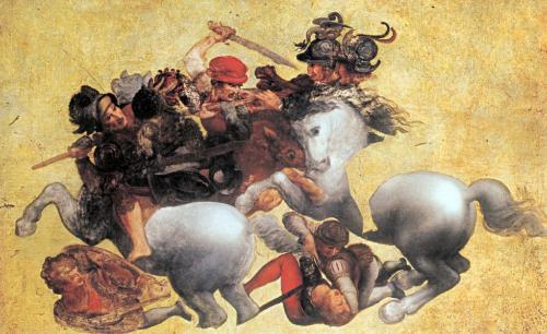 Leonardo da Vinci's Battle of Anghiari   Visit Tuscany
