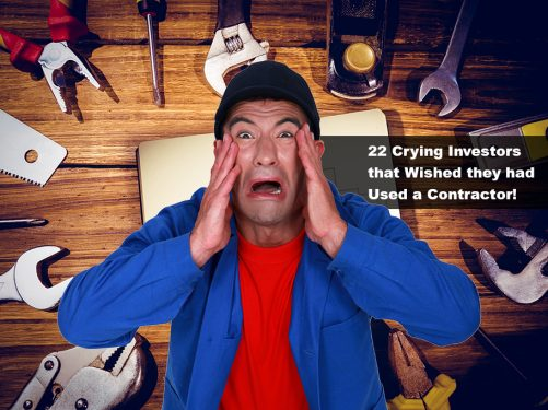 Crying investor Home Improvement fails