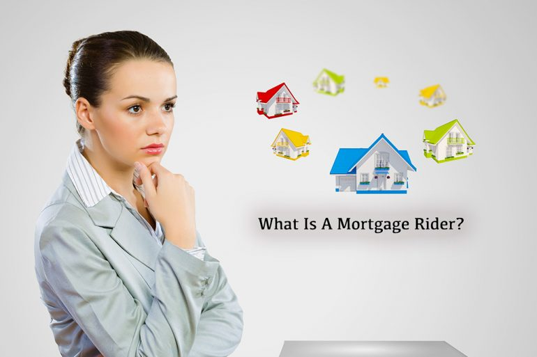 what is a mortgage rider
