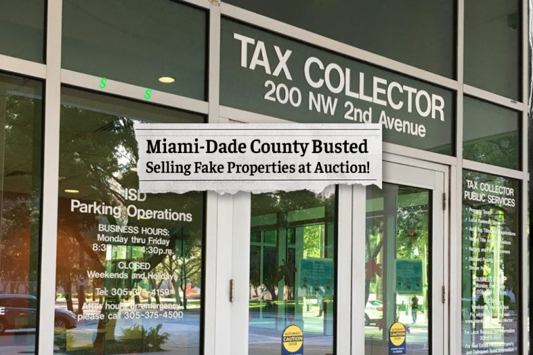 Miami-Dade County Busted Selling Fake Properties to Retired Teacher!