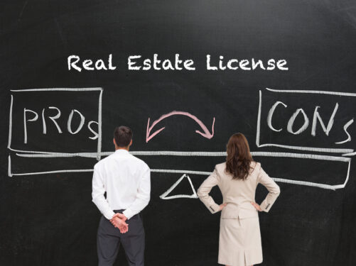 Pros and Cons of Getting a Real Estate License as an Investor